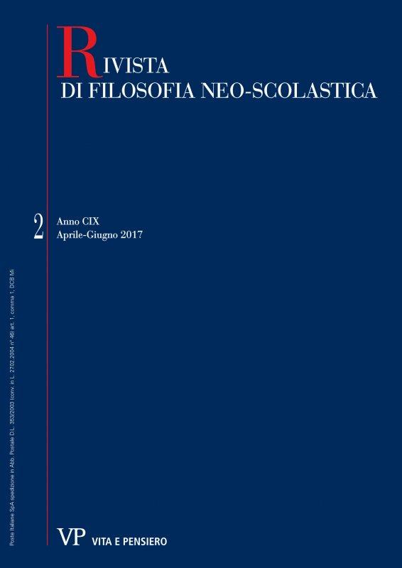 RIVISTA DI FILOSOFIA NEO-SCOLASTICA - 2017 - 2