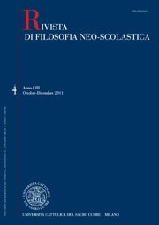 RIVISTA DI FILOSOFIA NEO-SCOLASTICA - 2014 - 1