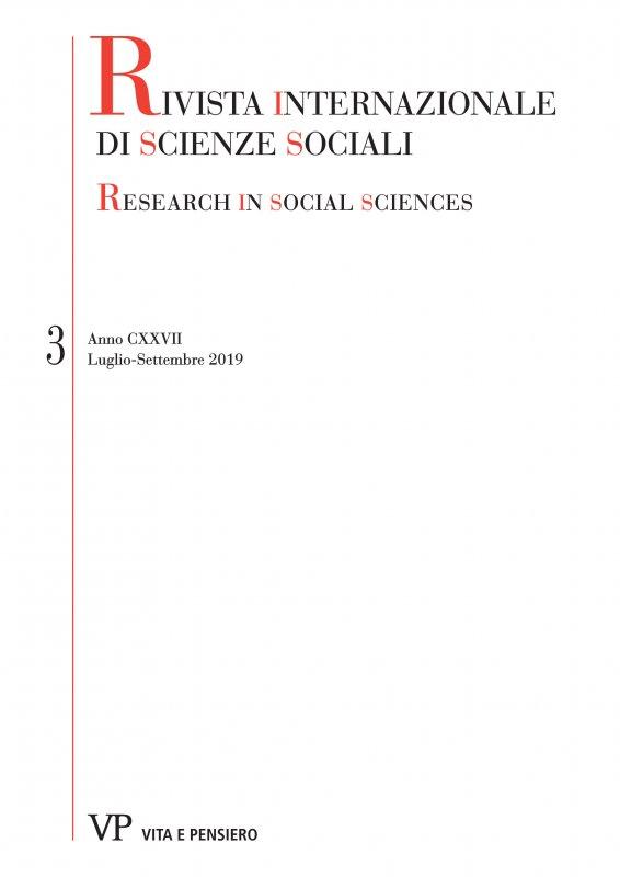 RIVISTA INTERNAZIONALE DI SCIENZE SOCIALI - 2019 - 3