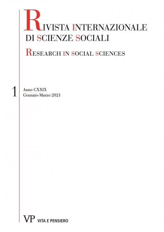 RIVISTA INTERNAZIONALE DI SCIENZE SOCIALI - 2021 - 1