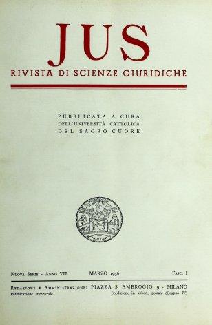 Roma assertrice del diritto nel secolo XX