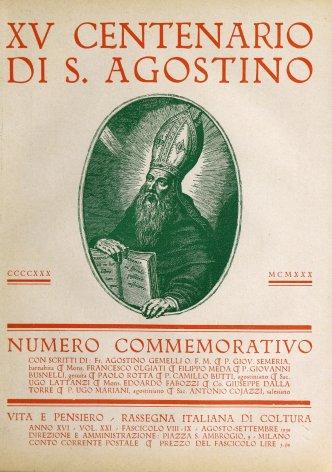 S. Agostino, Dante e il Medio Evo