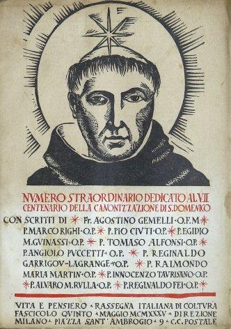 S. Domenico di Guzman nel VII centenario della sua canonizzazione
