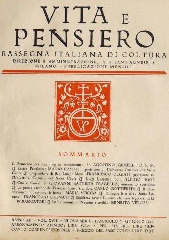 S. Francesco nei suoi biografi recentissimi