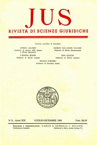 Scienza giuridica italiana e tedesca