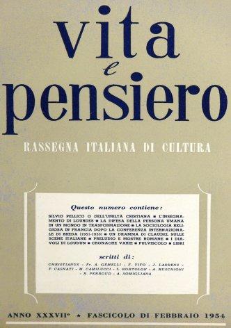 Silvio Pellico o dell'umiltà cristiana