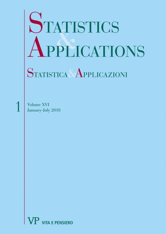 STATISTICA & APPLICAZIONI - 2018 - 1