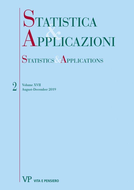 STATISTICA & APPLICAZIONI - 2019 - 2