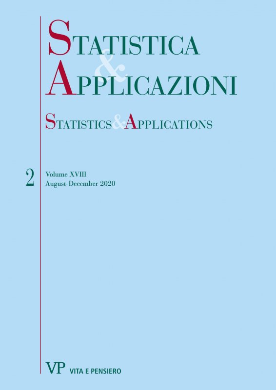 STATISTICA & APPLICAZIONI - 2020 - 2