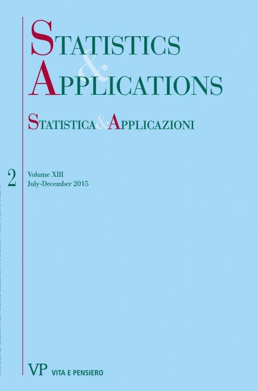 STATISTICA & APPLICAZIONI. Abbonamento annuale - Annual Subscription 2017