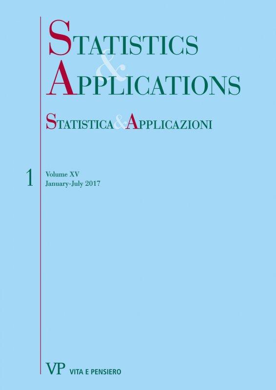 STATISTICA & APPLICAZIONI. Abbonamento annuale - Annual Subscription 2019