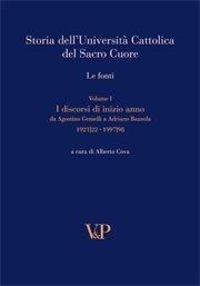 Storia dell'Università Cattolica del Sacro Cuore. Le fonti