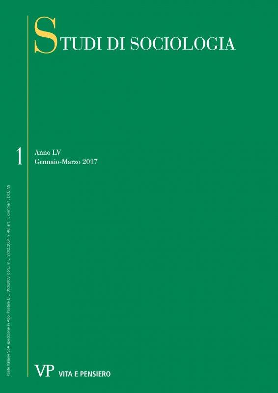 STUDI DI SOCIOLOGIA - 2017 - 1