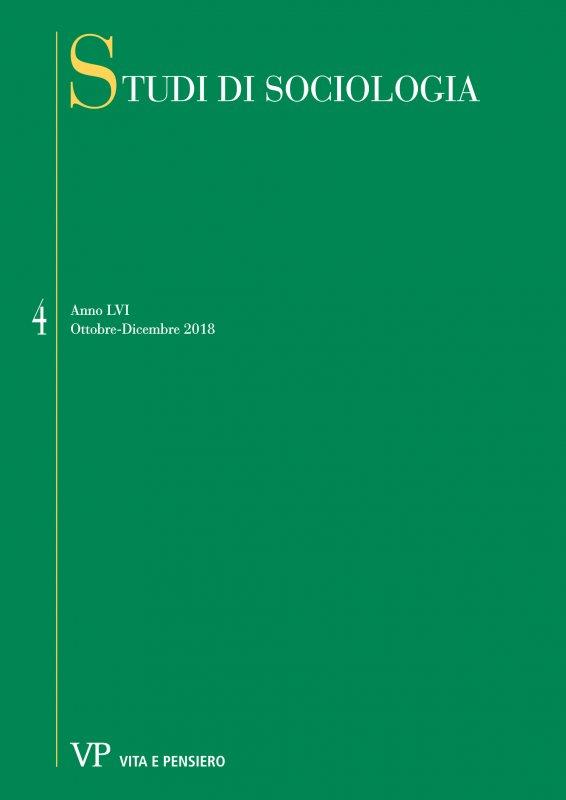 STUDI DI SOCIOLOGIA - 2018 - 4