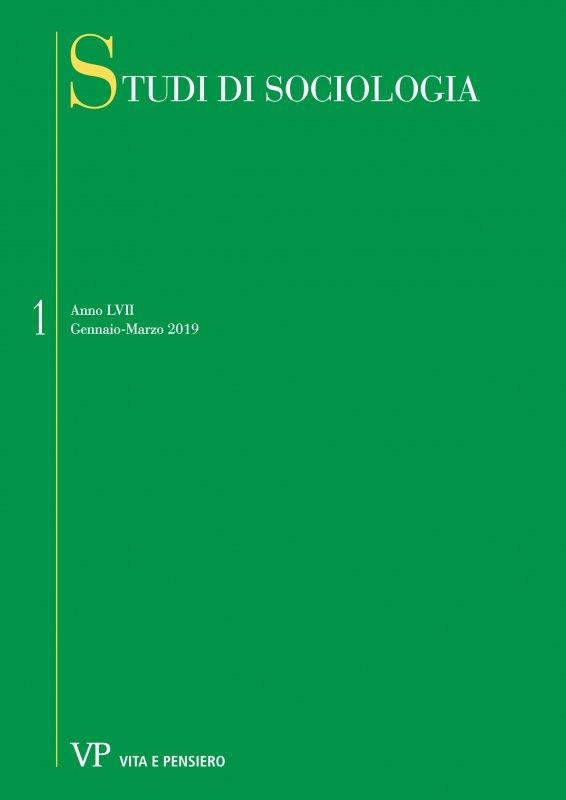 STUDI DI SOCIOLOGIA - 2019 - 1