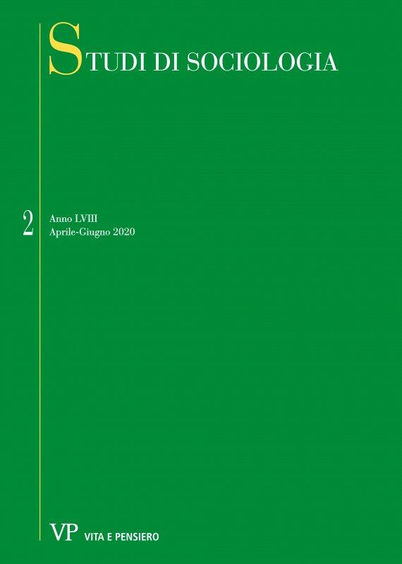 STUDI DI SOCIOLOGIA - 2020 - 2