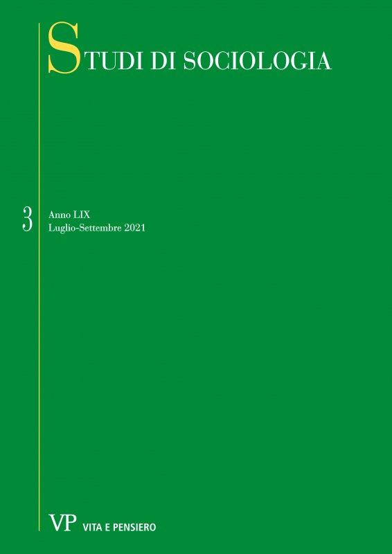 STUDI DI SOCIOLOGIA. Abbonamento annuale 2009