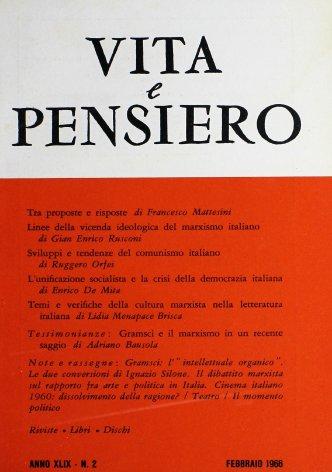Sviluppi e tendenze del comunismo italiano