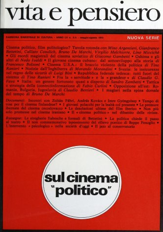 Tavola Rotonda. Cinema politico, film politologico?