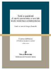 Temi e questioni di storia economica e sociale in età moderna e contemporanea
