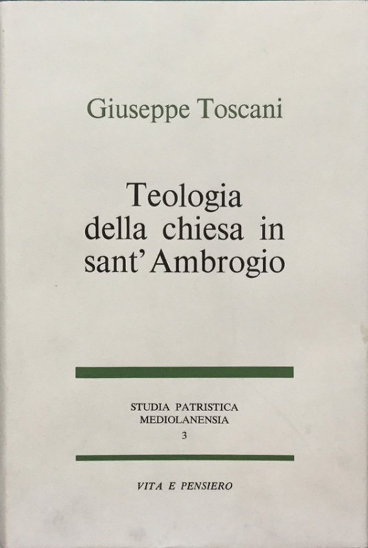 Teologia della chiesa in sant'Ambrogio