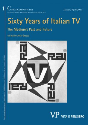 The history of food within the history of Italian television