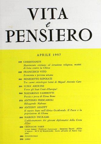 Tre carmi cristologici latini di Miguel Antonio Caro