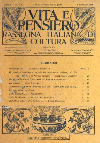 Un secolo di storia (1815-1914)