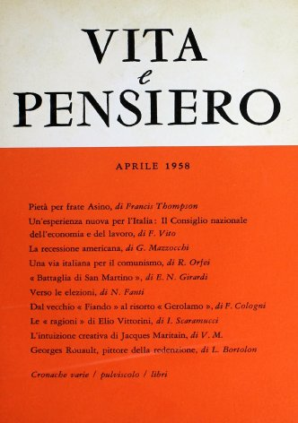 Un'esperienza nuova per l'Italia: il Consiglio nazionale dell'economia e del lavoro
