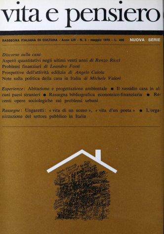 Ungaretti: «vita di un uomo», «vita d'un poeta»