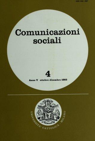 Urbino '83. Convegno su
