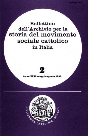 Venticinque anni nell'Università cattolica di Milano: Pasquale Saraceno (1933-1959)