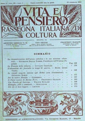 VITA E PENSIERO - 1916 - 2 (2)