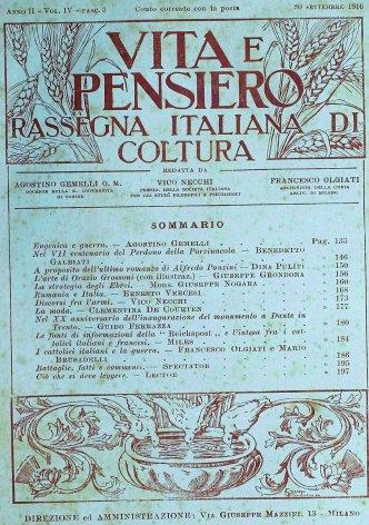 VITA E PENSIERO - 1916 - 9