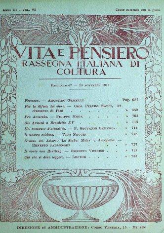 VITA E PENSIERO - 1917 - 11