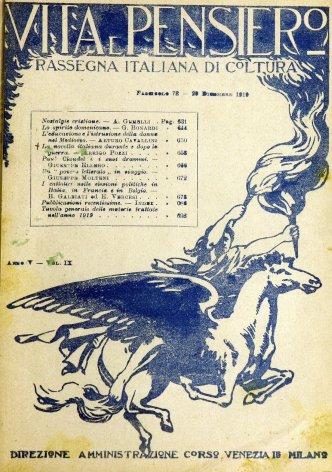 VITA E PENSIERO - 1919 - 12