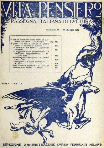 VITA E PENSIERO - 1919 - 5
