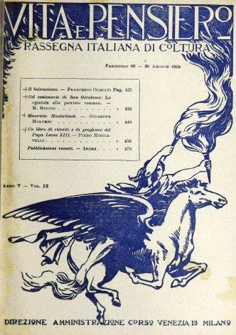 VITA E PENSIERO - 1919 - 8