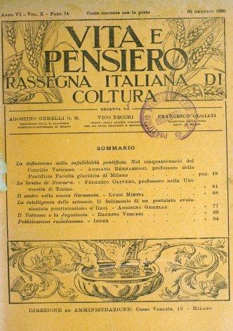 VITA E PENSIERO - 1920 - 1 (2)
