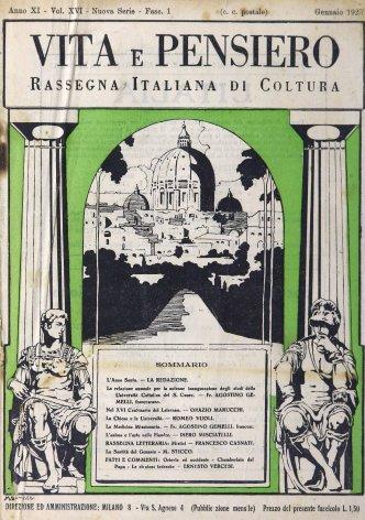 VITA E PENSIERO - 1925 - 1
