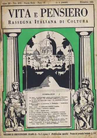 VITA E PENSIERO - 1925 - 12