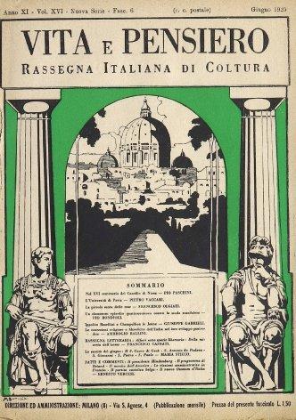 VITA E PENSIERO - 1925 - 6