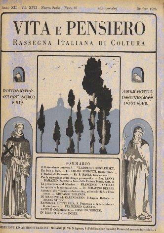 VITA E PENSIERO - 1926 - 10
