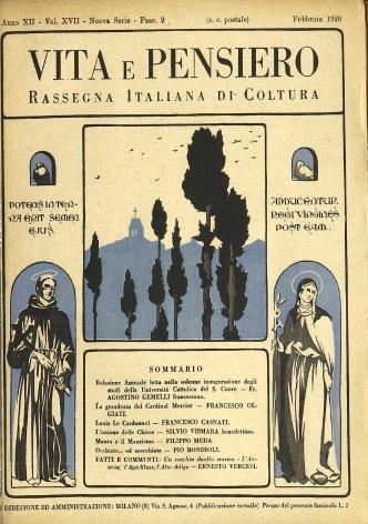 VITA E PENSIERO - 1926 - 2