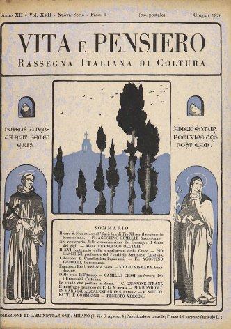 VITA E PENSIERO - 1926 - 6