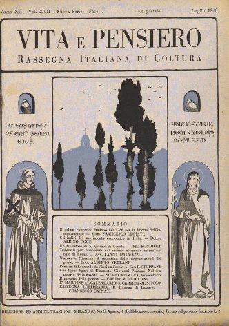 VITA E PENSIERO - 1926 - 7
