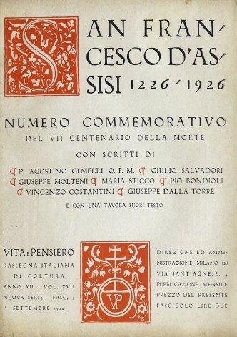 VITA E PENSIERO - 1926 - 9