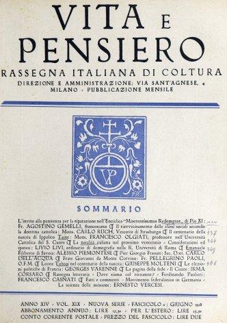 VITA E PENSIERO - 1928 - 6