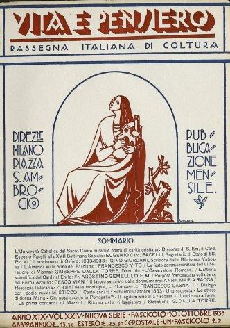 VITA E PENSIERO - 1933 - 10