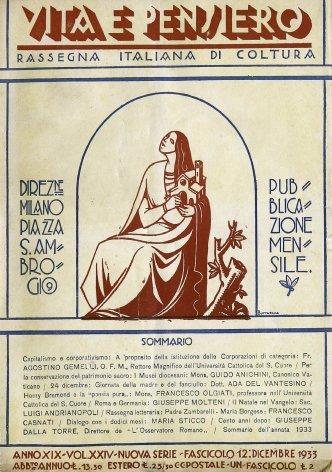 VITA E PENSIERO - 1933 - 12
